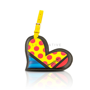 """ Heart "" Luggage Tag"